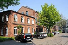 Historische Industriegebäude in Hamburg Ottensen; Borselhof.
