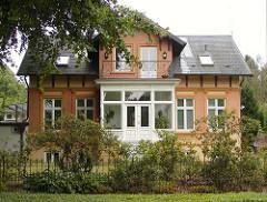 Hamburger Stadtteile Hamburg Alsterdorf - Wohnhaus in der Alsterdorfer Strasse