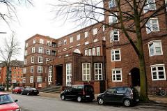 Verwaltungsgebäude Krankenkasse AOK Bethesdastrasse Architekten Diestel u. Grubitz.
