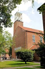Evangelische Pauluskirche in Hamburg Hamm.