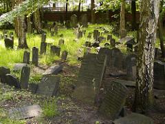Jüdischer Friedhof Königsstrasse Hamburg Altona.