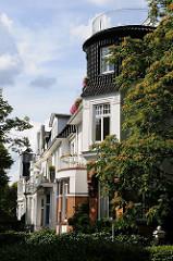 Wohnen in Hamburg an der Alster - Stadtvillen am Leinpfad.
