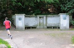 Ludowieg-Brunnen im Harburger Stadtpark; Ludowieg war von 1886-1899 Oberbürgermeister von Harburg.