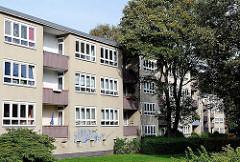 Wohnblock in Hamburg Tonndorf - Mehrstöckiges Wohngebäude.
