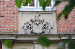 Barocker Backsteinbau - Gross Borstel Stavenhagenhaus.