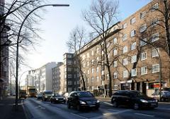 Hamburg Altona Nord Kieler Strasse - Wohngebäude Strassenverkehr in Hamburg