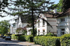 Historische Bebauung im Hamburger Stadtteil Osdorf - Gründerzeitarchitektur Hamburgs.