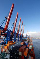 Containerbrücken HHLA Terminal Altenwerder
