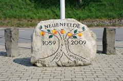 Erinnerungsstein Hamburg Neuenfelde 1059 - 2009.