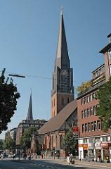 Bezirk Hamburg Mitte, Stadtteil Hamburg-Altstadt Hauptkirche St. Jacobi Steinstrasse.
