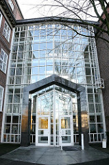 Eingang Hamburger Landesarbeitsgericht Hamburg-Barmbek Süd