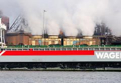 Industriebilder aus dem Hamburg Hafen - Fotos aus dem Hamburger Hafengebiet des Stadtteils Waltershof.