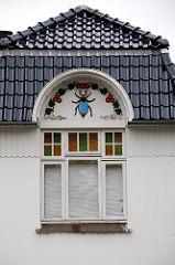 Bilder aus dem Bezirk Hamburg Wandsbek Fotos Stadtteil Bramfeld - Wandmalerei Bramfelder Chaussee