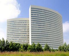 Euler Hermes Verwaltungsgebäude / Hochhaus in Hamburg Ottensen.