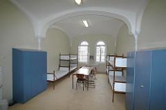 Gefängniszelle Hamburger Abschiebegefängnis Fuhlsbüttel.