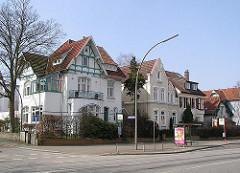 Einzelhäuser - Stadtvilla, Tarpenbekstraße Stadtteil Eppendorf Hansestadt Hamburg.