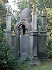 Grabmal Alter Friedhof / Hamburger Stadtteil Harburg.