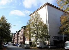 Luftschutzbunker, Hochbunker in HH-Eilbek - Neubauten
