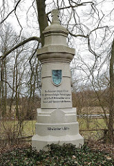 Gedenkstein Zusammenschluss Vereinigung Billwärder mit der Freien und Hansestadt Hamburg.