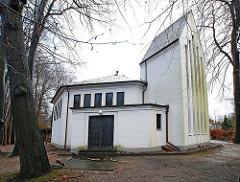 Bilder Hamburgs Kirchen - Matthias Claudius Kirche in Wohldorf Ohlstedt.