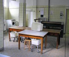 Waschküche im Otto Stolten Hof in der Hamburger Jarrestadt - Bilder aus den Stadtteilen Hamburgs.