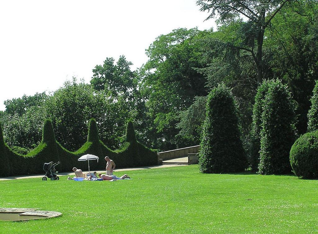 Bildarchiv Hamburg Foto Naherholung Parks In Hamburg Römischer