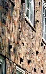 Klinkergebäude Bausenator Gustav Oelsner - Architekturgeschichte Altonas - Wohngebäude in Ottensen.