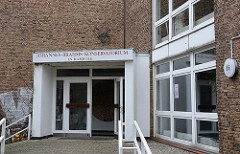 Eingang Johannes Brahms Konservatorium - Groß Flottbek.