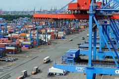 Containerbruecke HHLA Terminal Altenwerder CTA.