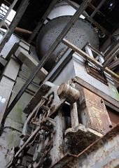 Maschinenanlage im Silo des Hansen-Speichers (2009)