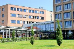 Asklepios Klinik Hamburg Barmbek; Krankenhaus Neubau in Hamburg Barmbek Nord.