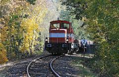 Güterlok an der Billebruecke - Güterzug zum Güterbahnhof.