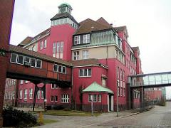 Gebäude  der Hamburger Behörde für Stom und Hafenbau in der Hafencity; erbaut 1885 / 86