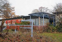 Hamburg Schulen Eingang Gesamtschule Walddoerfer.
