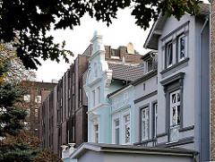 moderne und historische Hausfassaden - Architekturstile Hamburgs - Bilder aus Hamburg Hohenfelde.
