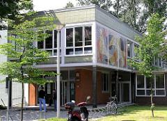 Arbeitsamt in Altona Nord - Architekt Bausenator Gustav Oelsner / Denkmalschutz