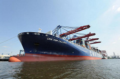 Containerfrachter CALLISTO Containerhafen Hamburg