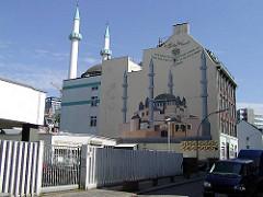 Centrum Moschee in Hamburg St. Georg - Merkez Camii Moschee - (2008) Türkische Moscheegemeinde in St. Georg.