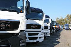 Werner Siemens Strasse, Billbrook Kfz Handel - Lastkraftwagen LKW Handel.