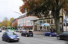 Bilder Hauptverkehrsstrassen Hamburgs Bamfelder Chaussee Strassenverkehr