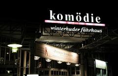 Eingangsbereich der Komödie / Winterhuder Fährhaus.