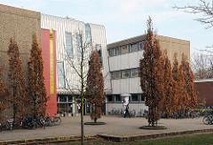 Neubau am Walddoerfer Gymnasium.