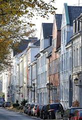 Wohn- und Geschäftshäuser - Palmaille in Hamburg Altona.