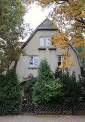 Wohngebiete in Hamburg - Einzelhaus, Hummelsbuettler Hauptstr.