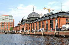 Fischauktionshalle von Altona - historische ARchitektur in der Hansestadt Hamburg.