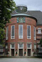 Schulgebäude Gelehrtenschule des Johanneums - Architekt Fritz Schumacher.