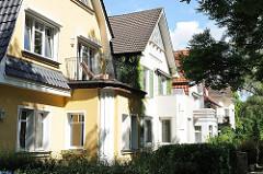 Einzelhausarchitektur - Wohnhäuser in Hamburg Marienthal.