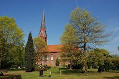 Kirche Stadtteil Hamburg Altenwerder - Hamburger Bezirk Harburg