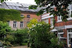 historische Industriearchtitektur in Hamburg - Maschinenfabrik N.F.A. Netzler in Hamburg Ottensen.