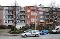 Altes Haus - neue Wohnblocks - Bebauung in der Horner Landstrasse